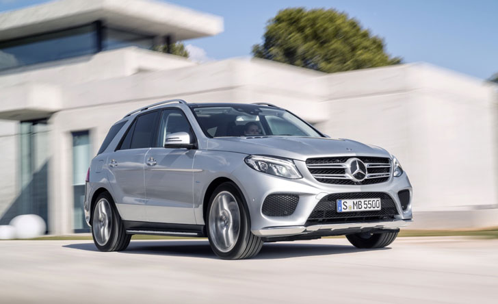 2016 Mercedes-Benz GLE500e is the brand's first plug-in ...