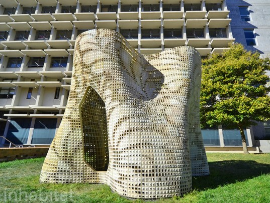 Bloom Pavilion, 3D Printed Building, 3d Printed Architecture, 3d Printing,  Emerging Objects