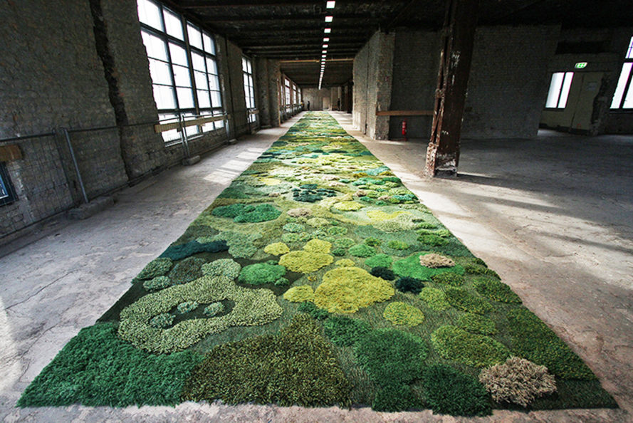 Amazing Landscape Carpets Transform Your Living Room Into