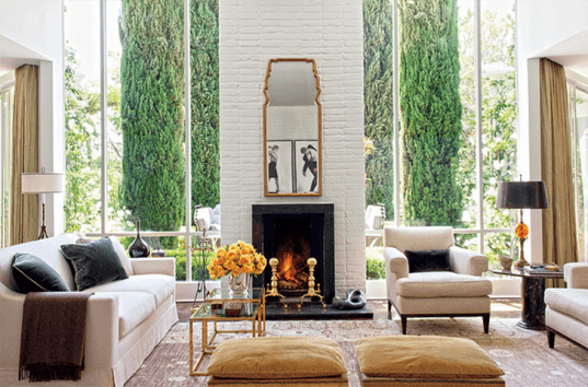 Architectural digest home show 2015 living room for Architectural digest home show