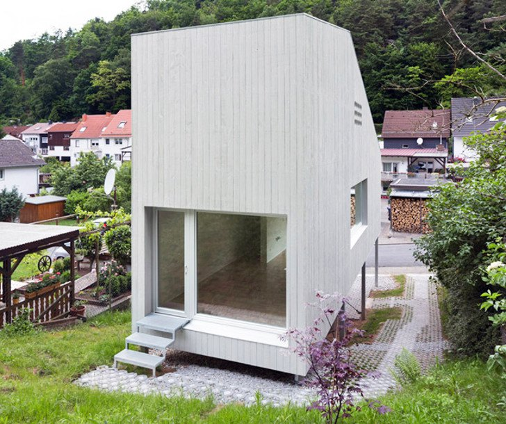 Tiny House Architecture: Architekturburo Scheder Positions A Tiny Timber House On