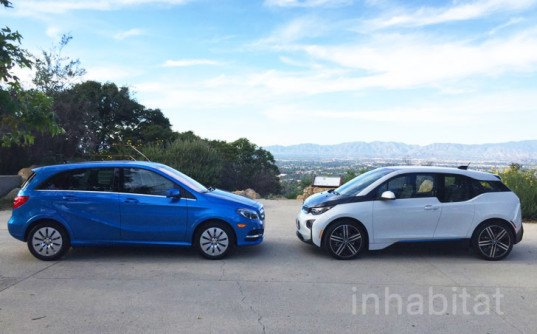 Test Drive Bmw I3 Vs Mercedes Benz B Class Electric Which Electric