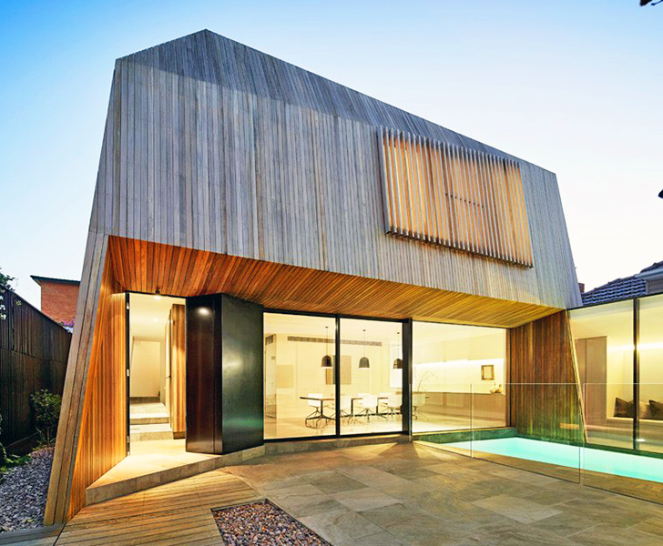 modern house green the colour house in melbourne wins 2014 australian living green