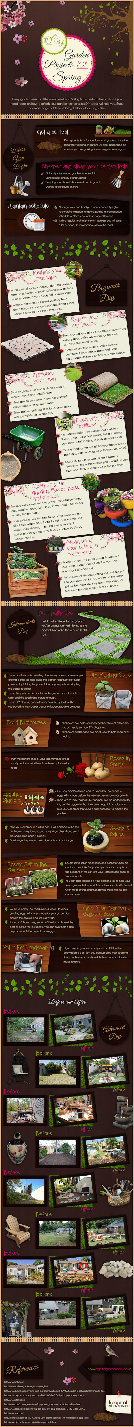 infographic, capital garden services, gardening, garden, garden infographic, diy garden projects, reader submitted content