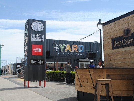 san francisco, pop up, shipping container, food truck, beer garden, urban intervention, mobile prototype, humphrey slocombe, señor sisig, proposition, anchor brewing, sfmade, giants, china basin, mission bay