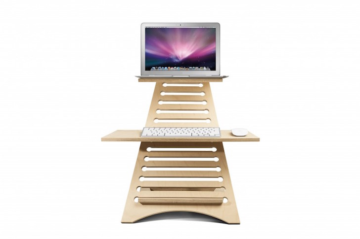 Portable and affordable Elevate desk lets you stand in style
