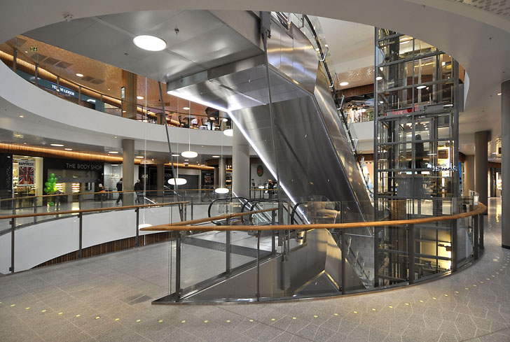 Fornebu S In Norway Is The First Shopping Mall To Receive