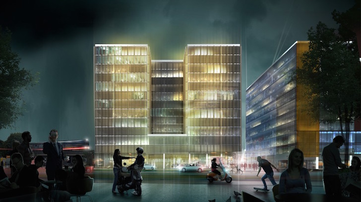 Kamjz And Kurylowicz Unveil Designs For Green Roofed
