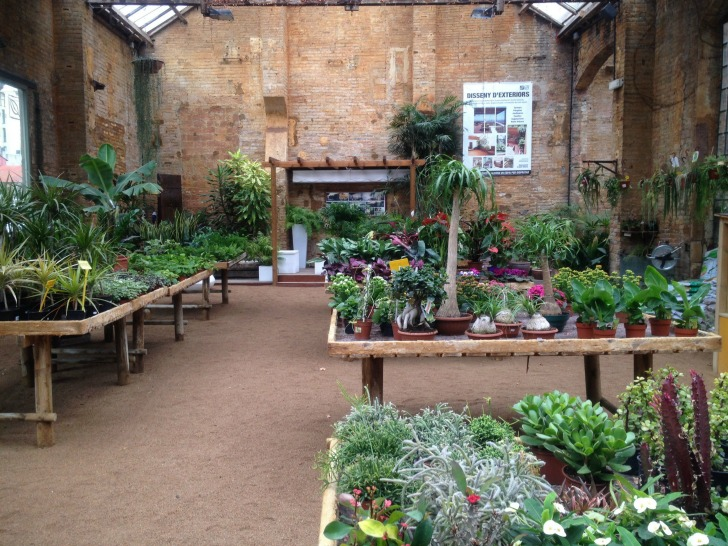 Hivernacle barcelona s luscious hidden garden center is a - Garden center barcelona ...