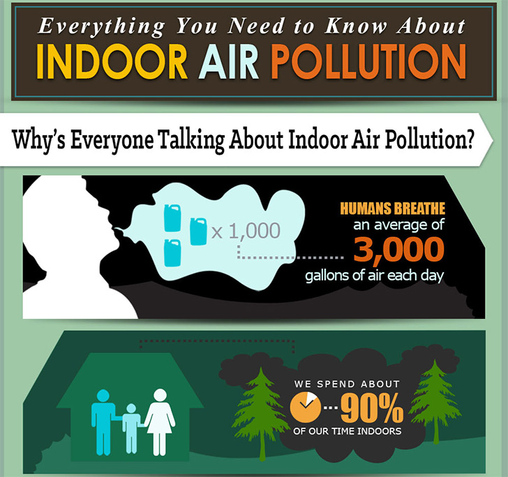 INFOGRAPHIC: The Dangers Of Indoor Pollution And How To