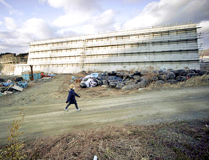 Japan Is Building A 250 Mile Concrete Sea Wall To Keep