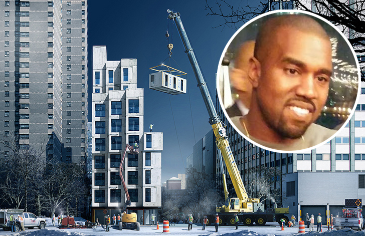 Kanye West And Kim Kardashian Buy Entire Micro Apartment Building To