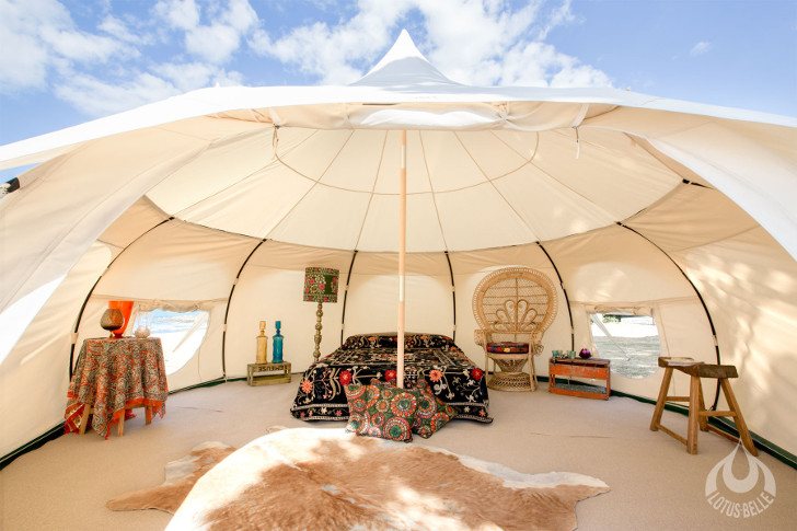 lotus belle outback tent luxury tents tents for events beautiful portable shelters & Lotus Belle Outback Tent provides a temporary luxury space with ...