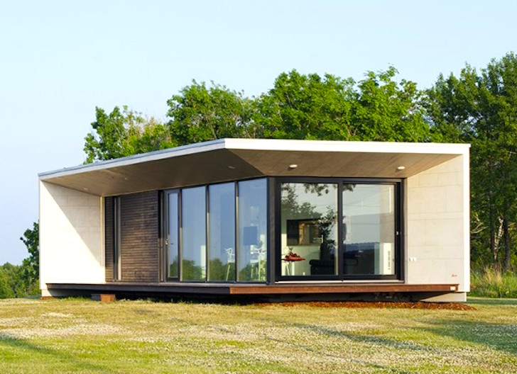 Versatile prefab Passion House M1 snaps together in just two days