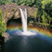 Rainbow Falls, Hawaii, Big Island, waterfalls, Hawaiian waterfalls, rainbow