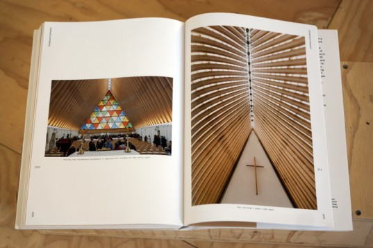 Aspen Art Museum book, Cardboard house, paper tube house, Ban architecture, emergency shelter, sustainable building materials, earthquake shelter, Humanitarian Architecture Ban,
