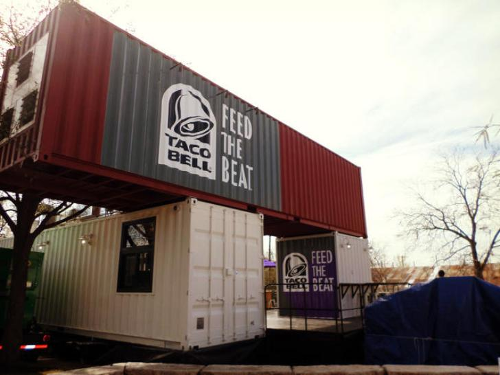 Taco Bell Shipping Container Store Inhabitat Green Design