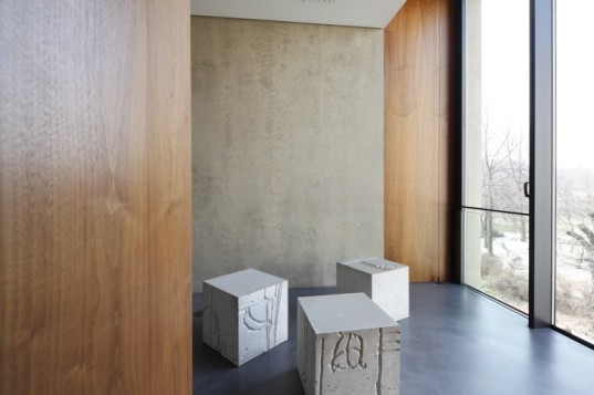 Tchoban Foundation, Energy efficient building, green architecture germany, sustainable building berlin, architectural photography berlin, architectural drawing museum, SPEECH architects, NPS tchoban voss, concrete facade