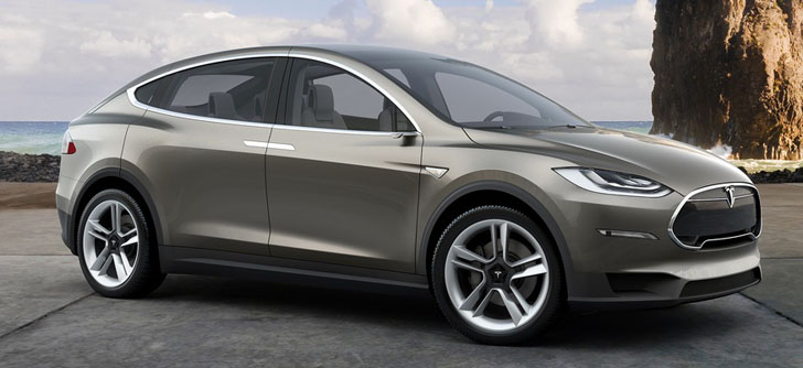 VIDEO: See the Tesla Model X up close on the road in Palo Alto