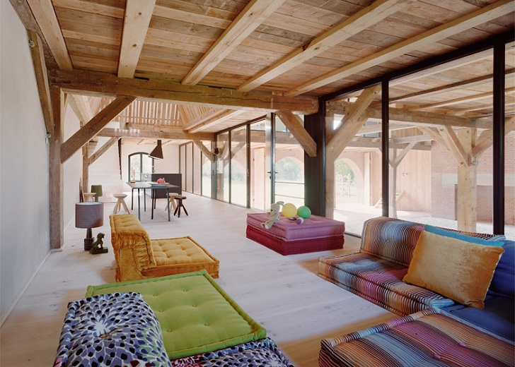 Charming Thomas Kroeger Architekt, Germany, Green Renovation, Barn Renovation,  Timber Architecture, Wooden. This 19th Century Lanhaus Country House ...
