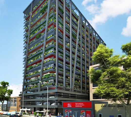 green design, eco design, sustainable design, adaptive reuse, Johannesburg, Adjaye Associates, hallmark House, Maboneng District, plant covered building