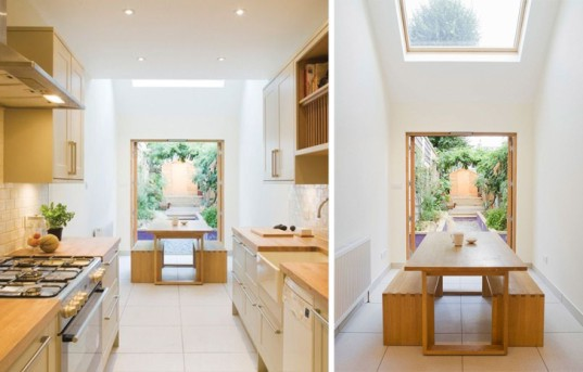 London, alma-nac, extension, green renovation, UK architects, terraced home, narrow house, small spaces, small budget