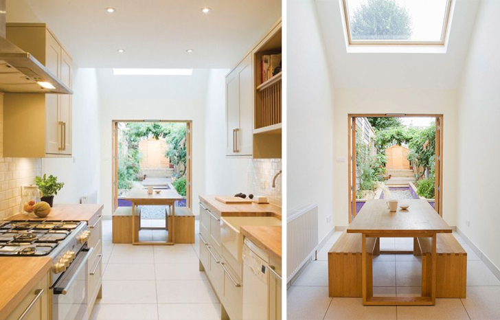 alma nac s slim house is a super narrow london home filled with