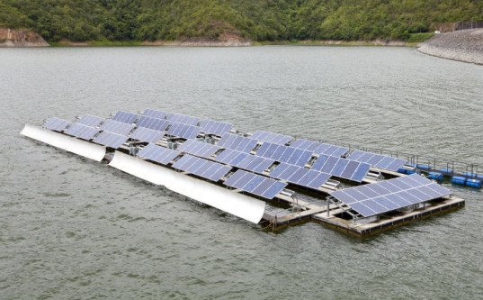 floating solar, photovoltaics, floatovoltaics, sonoma county, solar power, irrigation ponds