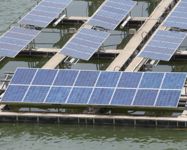 floating solar, photovoltaics, floatovoltaics, solar power, solar grid, renewable energy, solar power napa, floating solar power farm, floating solar farm, California solar farms