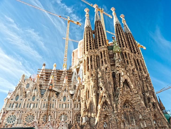 Gaudi 39 s sagrada familia could be finished soon thanks to for Gaudi kathedrale barcelona
