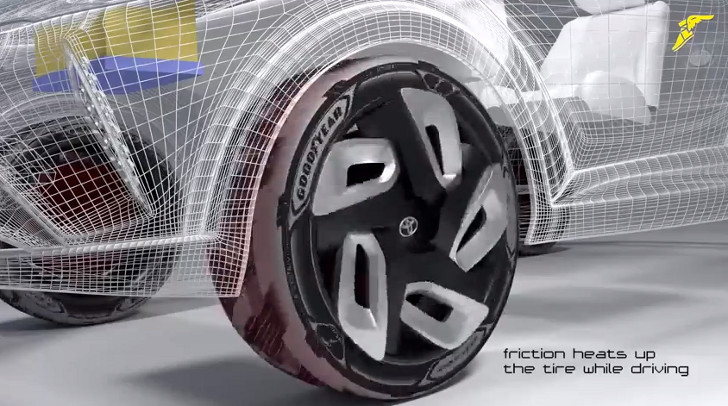 Goodyear Car >> Goodyear S Energy Generating Tire Could Charge Your Electric Car