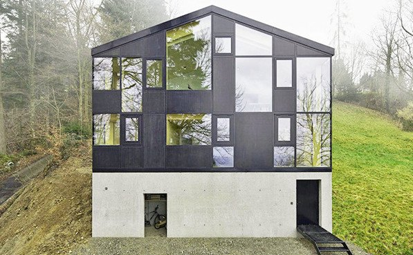 Jochen specht transformed an old austrian house into a for Minimalist old house