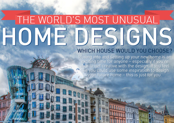INFOGRAPHIC: 8 of the world\'s most unusual dream homes | Inhabitat ...