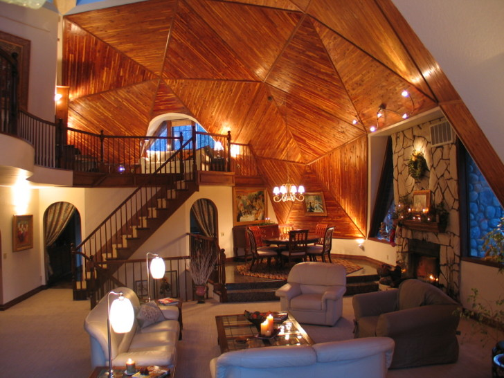 5 great reasons to build a geodesic dome home inhabitat for Maison container 50000