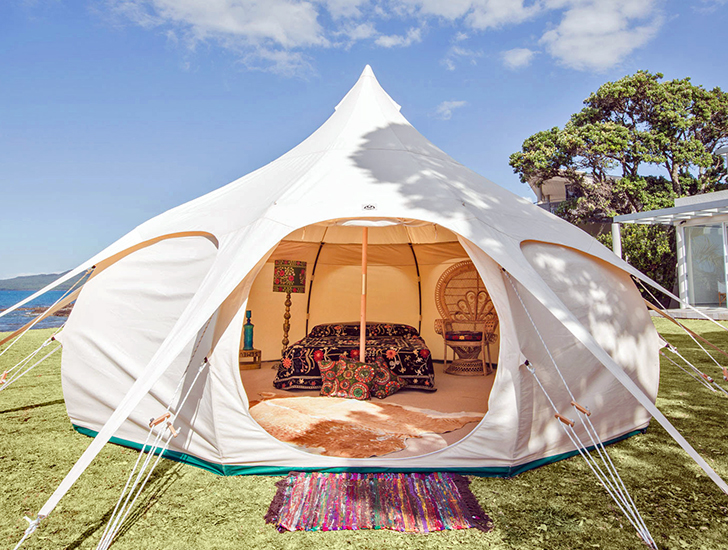 Lotus Belle Outback Tent provides a temporary luxury space with multiple purposes | Inhabitat - Green Design Innovation Architecture Green Building & Lotus Belle Outback Tent provides a temporary luxury space with ...
