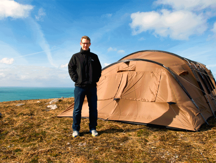 Temperature-regulating Thermo Tents offer the most comfortable c&ing experience ever & Temperature-regulating Thermo Tents offer the most comfortable ...