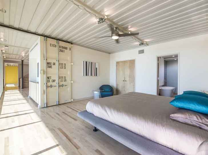 14 Shipping Containers Bedroom  Inhabitat  Green Design, Innovation,  Architecture, Green Building