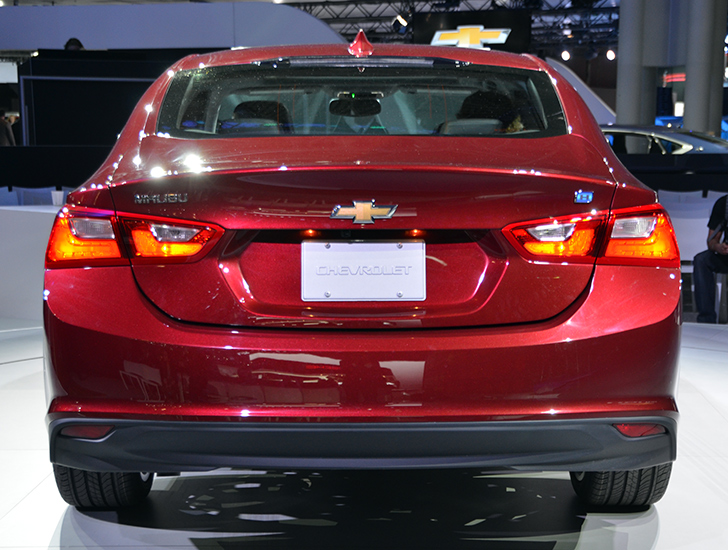 chevrolet unveils 2016 malibu hybrid at the new york auto show inhabitat green design. Black Bedroom Furniture Sets. Home Design Ideas