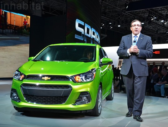2016 chevrolet spark, 2016 spark, chevrolet spark, chevy spark, 2016 chevy spark, city car, spark city car, green transportation, green cars, sustainable transportation, new york auto show, 2015 new york auto show, ny auto show, nyias, nyias 2015