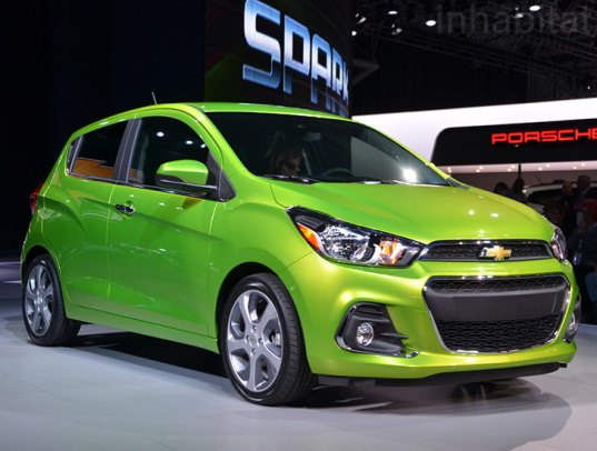 2016 chevrolet spark inhabitat green design innovation architecture green building. Black Bedroom Furniture Sets. Home Design Ideas