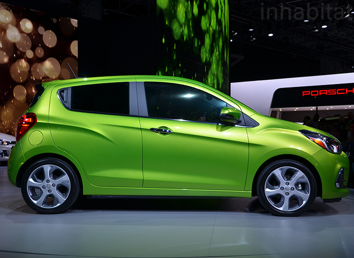 chevy 39 s new 2016 spark city car is faster stronger and more efficient inhabitat green. Black Bedroom Furniture Sets. Home Design Ideas
