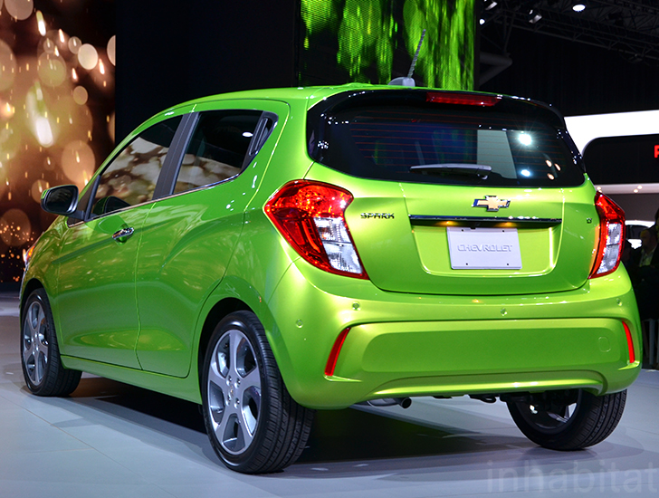 Chevy s new 2016 Spark city car is faster stronger and more