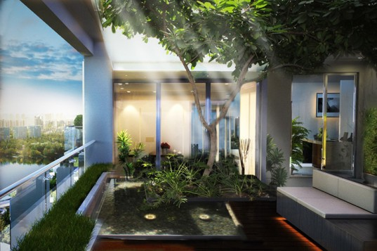 5 Plus Design, 5+ Design, 5+ Architecture, Krystal Laputa, Krystal Laputa Chengdu, 5+ Design Chengdu, green design, high rise design, garden high rise, apartment gardening, green architecture, natural architecture, green design