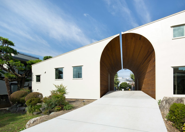 nice home arch design. Architecture These two homes reach toward one another to create a beautiful