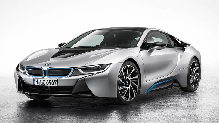 Beautiful Sleek BMW I8 Hybrid Sports Car Wins 2015 Green Car Award