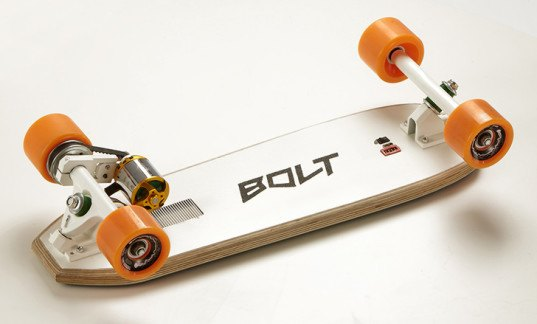 The Bolt Is The Smallest And Lightest Electric Skateboard