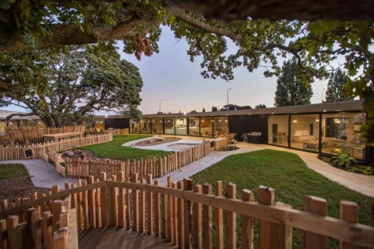 Chrysalis Childcare Centre Uses Existing Trees As Symbolic