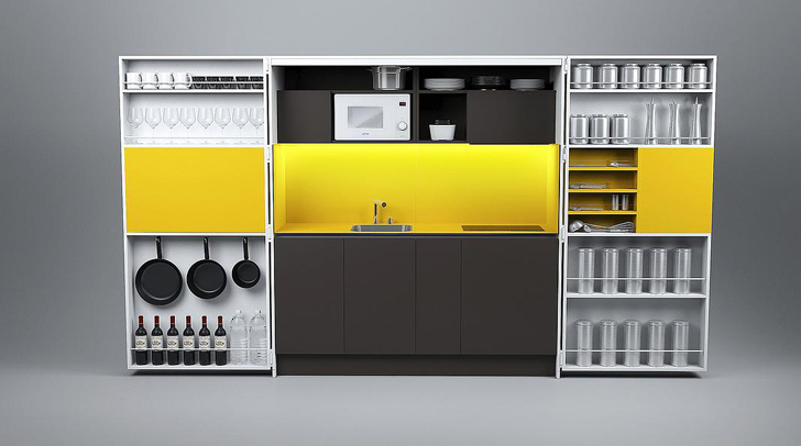 Dizzconcept 39 S Full Sized Gourmet Pia Kitchen Fits In A