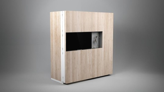 green design, eco design, sustainable design, Dizzconcept, PIA kitchen, pop out kitchen, convertible furniture, convertible kitchen, tiny living, small living, fold out kitchen