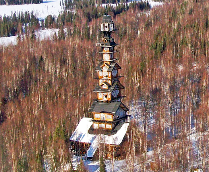 Alaskas Dr Seuss House Is A Whimsical Tower Made Of